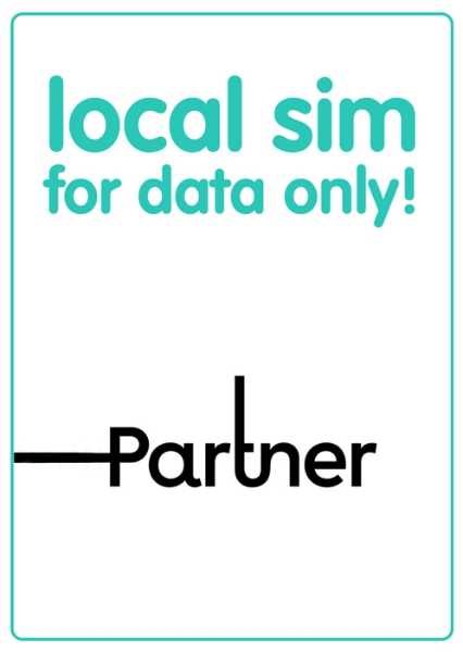 Picture of Partner Data - Local SIM, Data only. 200GB. Valid for 30 days.